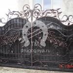 Арт №025 Кованые ворота Красногорск