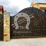 Арт №026 Кованые ворота