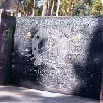 Арт №022 Кованые откатные ворота