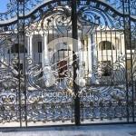 Арт №019 Кованые ворота эксклюзив