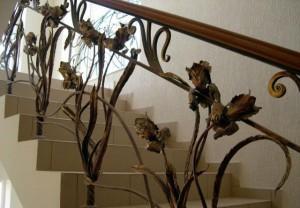 Кованые лестницы от СК Друг Огня