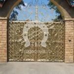 Арт №017 Кованые ворота Раменское