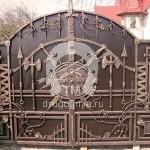 Арт №016 Кованые ворота ручной работы