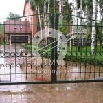 Арт №100 Кованые ворота