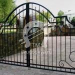 Арт №096 Кованые ворота Дмитров