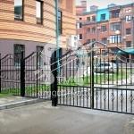 Арт №097 Кованые ворота и забор