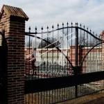Арт №093 Кованые ворота Солнечногорск