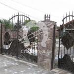 Арт №091 Кованые ворота Фрязино