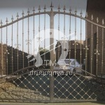Арт №090 Кованые ворота