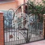 Арт №086 Кованые ворота Сергиев Посад