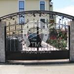 Арт №081 Кованые ворота Ивантеевка