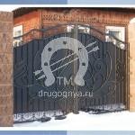 Арт №071 Кованые ворота