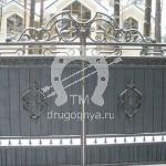 Арт №069 Кованые ворота Королев