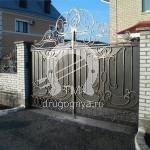 Арт №065 Кованые ворота Руза