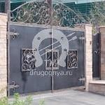 Арт №060 Кованые ворота Люберцы
