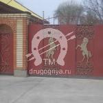 Арт №052 Кованые ворота