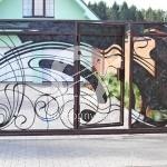 Арт №048 Ворота кованые