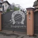 Арт №049 Кованые ворота Коломна