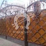 Арт №047 Кованые ворота