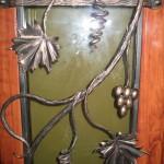№002 Дверь с элементами ковки