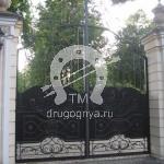 Арт №011 Кованые ворота Черноголовка