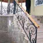 Арт №108 Кованая лестница Дзержинский