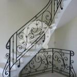Арт №046 Кованая лестница Люберцы