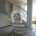 Арт №105 Кованая лестница Клин
