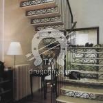 Арт №089 Кованая лестница на больцах