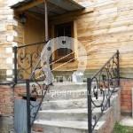 Арт №117 Кованые лестничные перила