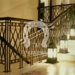 Арт №085 Кованая лестница в готическом стиле