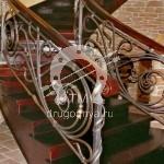 Арт №084 Кованая лестница Москва