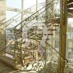 Арт №081 Кованая лестница