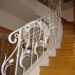 Арт №073 Кованая лестница в частном доме