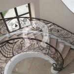 Арт №027 Кованая лестница Егорьевск