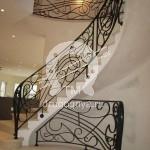 Арт №007 Кованая лестница для дома