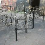 ритуальные оградки кованые производство