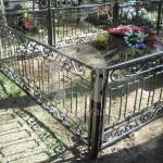 Арт №001 Кованая ритуальная оградка
