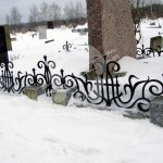 Арт №008 Кованая оградка на могилку