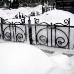 Арт №007 Оградка на кладбище Ногинск