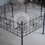 Ритуальная оградка на могилку