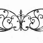 Арт №048 Эскиз ритуальной оградки