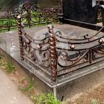 Изготовление кованых ритуальных оградок