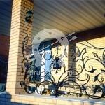 Арт №061 Кованый балкон ручной работы