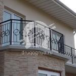 Арт №060 Металлическое балконное ограждение