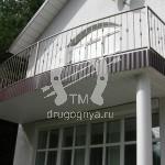 Арт №058 Кованый балкон Фрязино