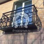 Арт №055 Кованый балкон Серпухов