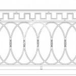 Арт №131 Эскиз ограждения для балкона