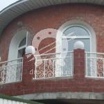 Арт №053 Кованый балкон Люберцы