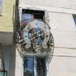 Арт №052 Кованый французский балкон
